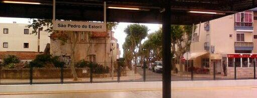 Estação Ferroviária de São Pedro do Estoril is one of Lugares favoritos de Paul.