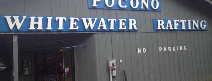 Pocono Whitewater Rafting is one of Philly.