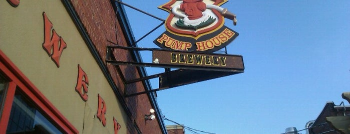 The Pump House Brewery and Restaurant is one of ShuckerPaddy's Oyster Bars.