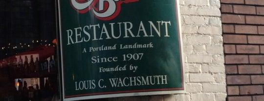 Dan & Louis Oyster Bar is one of Portland Restaurants.