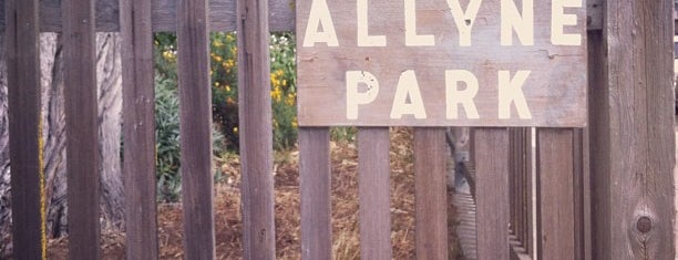 Allyne Park is one of to-do in sf.