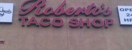 Roberto's Taco Shop is one of Orte, die Kimburr gefallen.