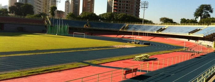 Conjunto Desportivo Constâncio Vaz Guimarães (Complexo do Ibirapuera) is one of Lieux qui ont plu à Rômulo.