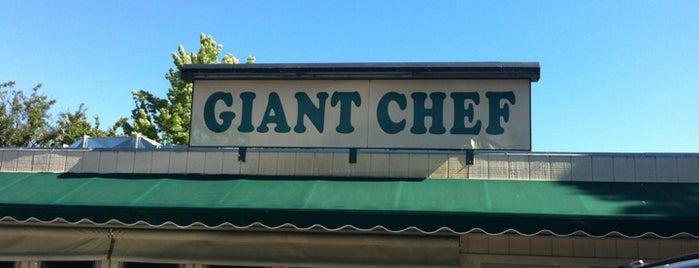 Giant Chef Burger is one of Lieux qui ont plu à Michi.