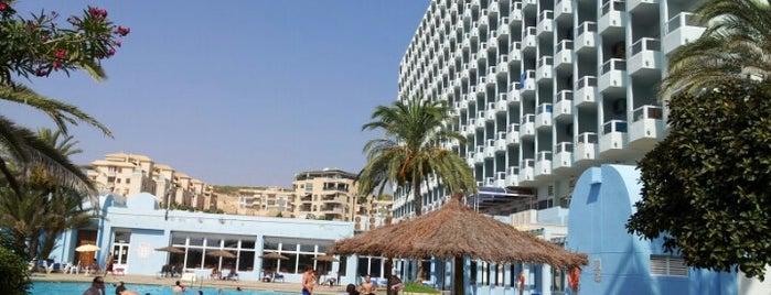 Hotel Playas de Guardamar is one of Lieux qui ont plu à Diego.