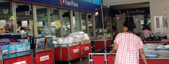 NTUC FairPrice is one of Lugares favoritos de Serene.