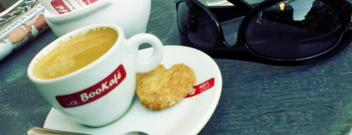 BooKafé is one of Coffee & Tea.