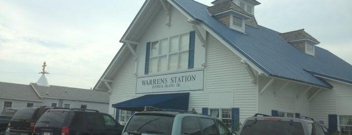 Warren's Station Restaurant is one of Jen Randall on the Eastern Shore.