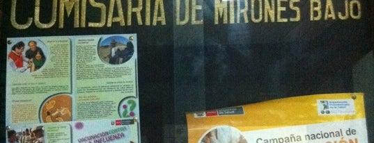 Comisaría Mirones Bajo is one of Comisarías en Lima.