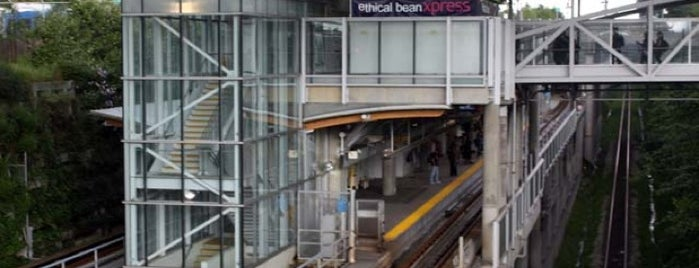 Commercial - Broadway SkyTrain Station is one of Vancouver Canada Line.