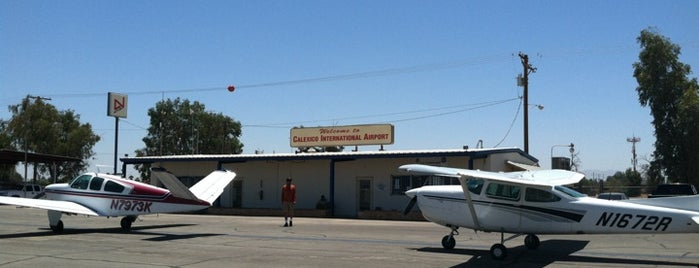 Calexico International Airport (CXL) is one of Airports of the World.