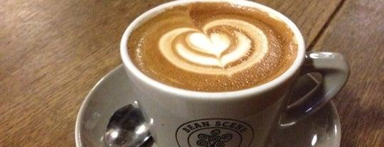 Bean Scene Coffee Works is one of NA & ZA lijst.