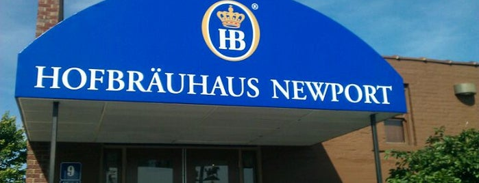 Hofbräuhaus Newport is one of Breweries or Bust.