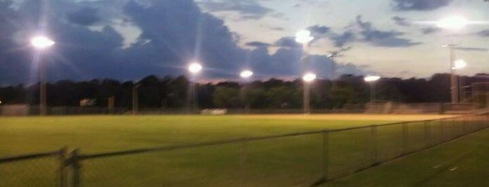 Al Bishop Softball Complex is one of #FitBy4sqDay Tips.