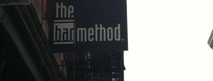 The Bar Method is one of NYC Workout.