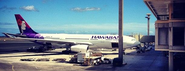 ท่าอากาศยานนานาชาติโฮโนลูลู (HNL) is one of AIRPORT.