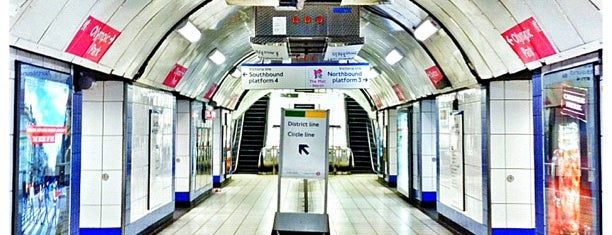 Victoria London Underground Station is one of Spring Famous London Story.