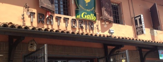 Trattoria Al Gallo is one of Matteo'nun Beğendiği Mekanlar.