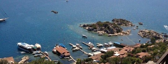 Kekova Ancient Town is one of Turkey Travel Guide.