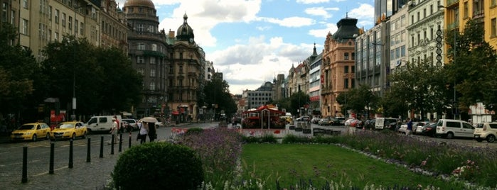 Wenzelsplatz is one of StorefrontSticker #4sqCities: Prague.