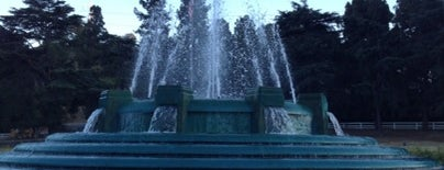 Mulholland Fountain is one of Essential Los Angeles.
