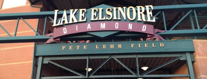 Lake Elsinore Diamond is one of Locais curtidos por Joey.