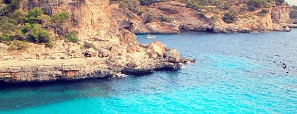 Cala Llombards is one of mallorca.