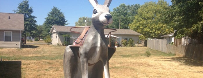 Henry's Rabbit Ranch is one of Route 66 Roadtrip.