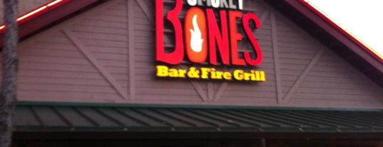 Smokey Bones Bar & Fire Grill is one of Drunk eats.