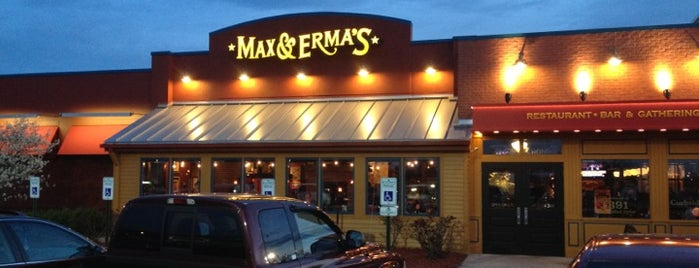 Max & Erma's is one of Free WiFi.