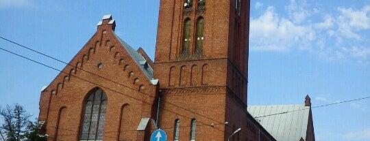 Rīgas Jaunā Svētās Ģertrūdes baznīca is one of สถานที่ที่ Денис ถูกใจ.
