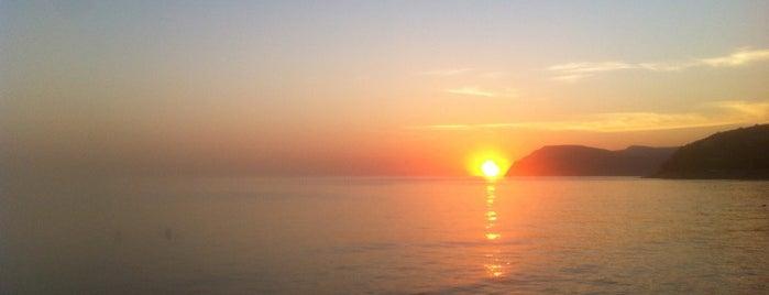 Пляж в Широкой Балке is one of Phil 님이 좋아한 장소.