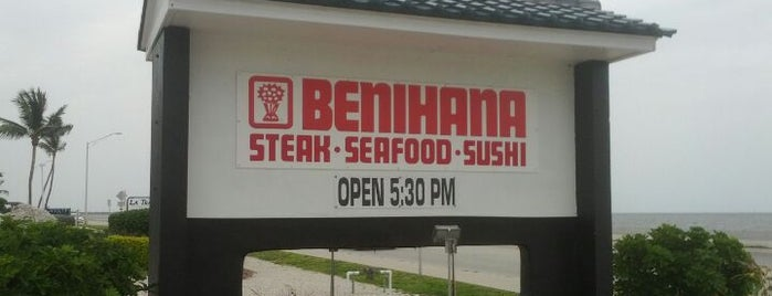 Benihana is one of Key West.