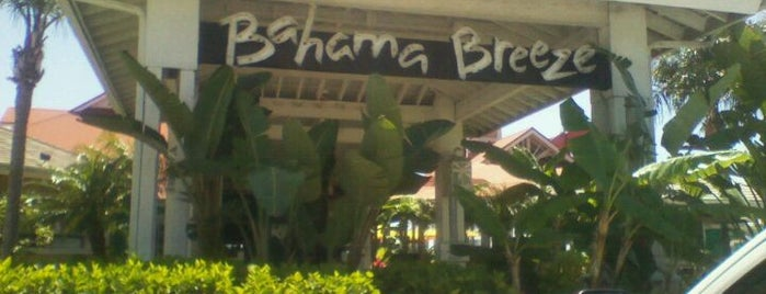 Bahama Breeze is one of My FAV Hot Spots.