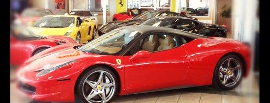 Ferrari, Bentley, Lotus of Denver is one of Alex 님이 저장한 장소.