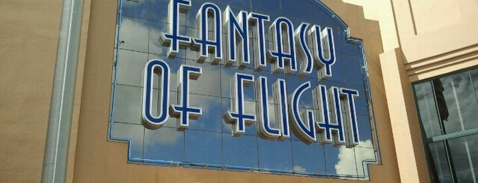 Fantasy of Flight is one of Aviation Geek!.