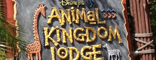 Disney's Animal Kingdom Lodge is one of icelle : понравившиеся места.