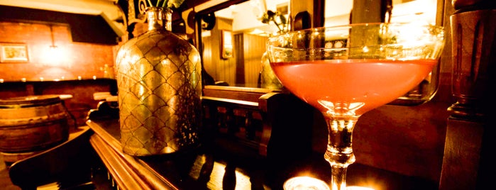 Worship Street Whistling Shop is one of Drinks Intl - World's 50 Best Bars.