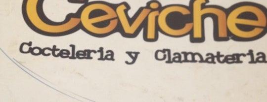 el rey ceviche is one of Nallely'in Beğendiği Mekanlar.
