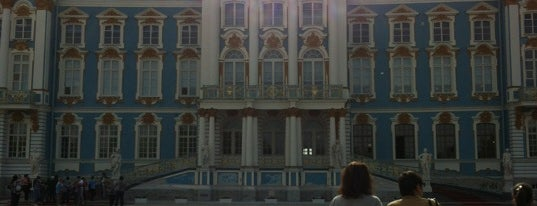 The Catherine Palace is one of Sight-Seeing in SPB.