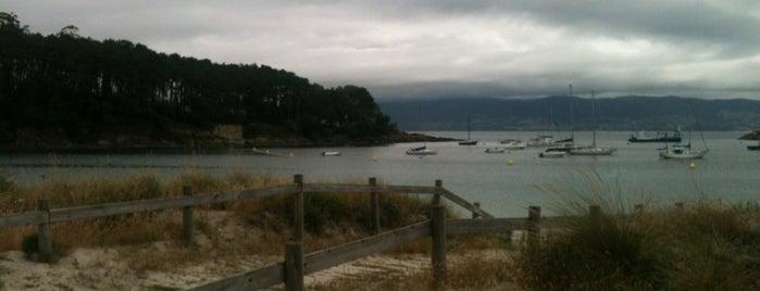 Praia de Baltar is one of To do's Sanxenxo.