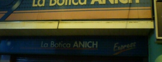 La Botica Anich Express is one of Farmacias en Rancagua.