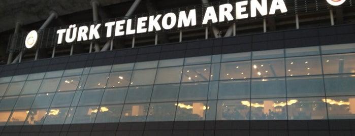 Türk Telekom Stadyumu is one of Haznedar.
