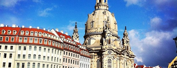 Neumarkt is one of Dresden.
