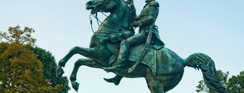 Andrew Jackson Statue is one of IWalked WashD.C.'s Foggy Bottom (Self-guided Tour).
