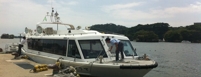 松島湾遊覧船乗り場 is one of Lieux qui ont plu à Masahiro.