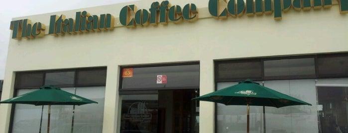 The Italian Coffee Company is one of Tempat yang Disukai Joaquin.