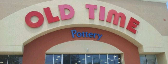 Old Time Pottery is one of Shopping.