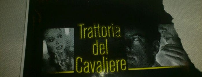 Trattoria del Cavaliere is one of Katanya. Sicilya.