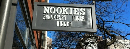 Nookies is one of Fave Brunch Spots in Chicago.